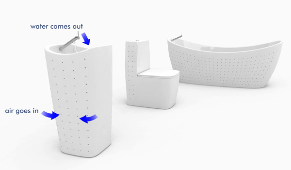 Waterfactory Bathroom Equipment by Joao Goncalves