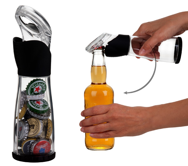 Catch That Cap! Bottle Cap Catcher by Stefano Di Lollo for Trudeau Corporation