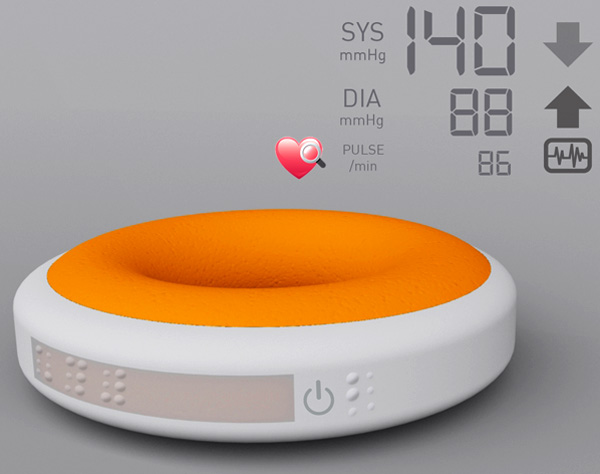 Blood Pressure Bracelet Yanko Design