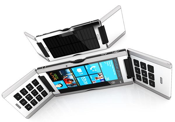 Triple Flip Smartphone Concept by Dave Schultze for SchultzeWORKS designstudio
