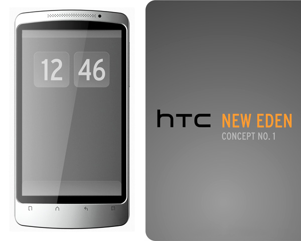 HTC New Eden 1 Concept Cellph
