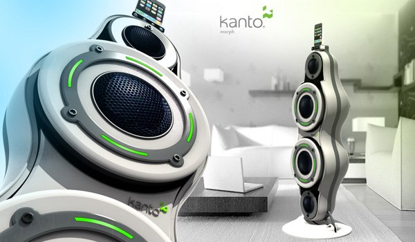 Kanto Concept iPod Speakers by Alp Germaner