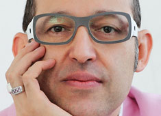 Not Afraid of Color, Interview with Karim Rashid
