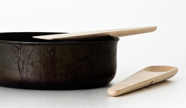 Hang Around & Toss Around Spoons by KiBiSi for Muuto