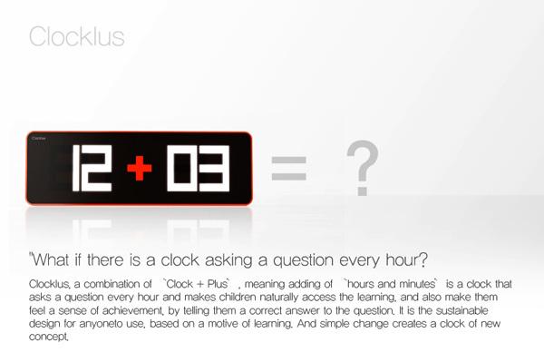 Clockus – Concept Clock by Noh Ji Hun
