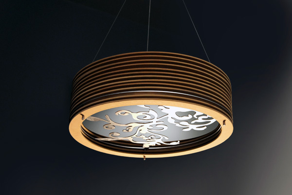Techno Organic Lighting   Yanko Design -> Lampadari Moderni Linea Light