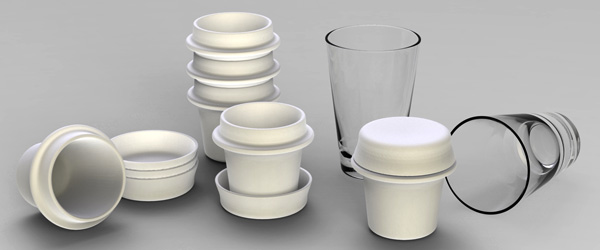 Turkish Coffee Cups by Alize Cetintas & Burak Kure