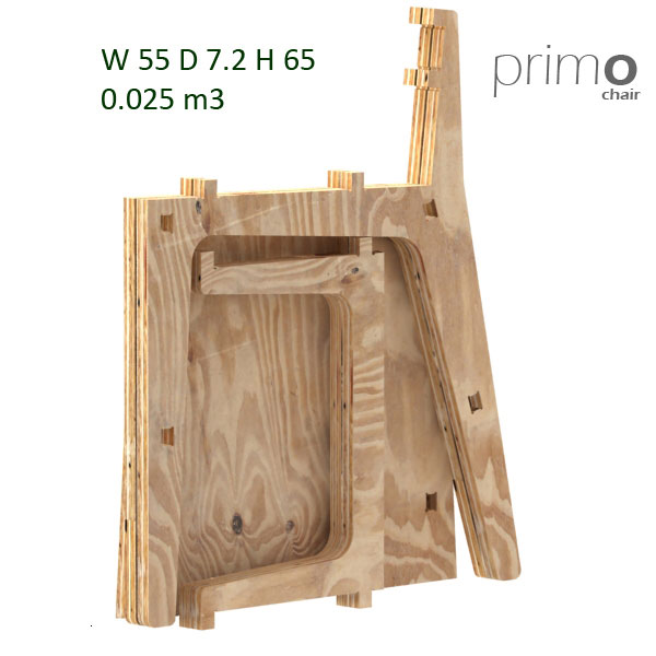 PrimO Chair by Petyo Ivanov Denev