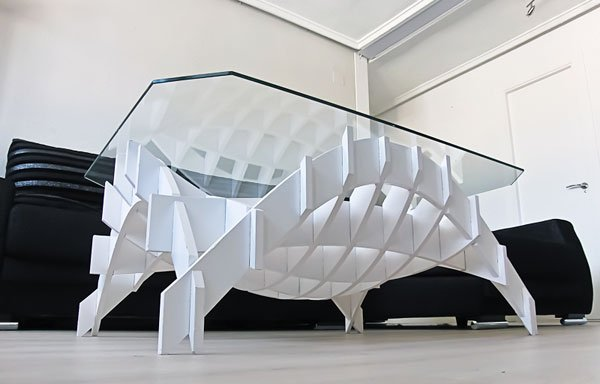 Organic form architectural structure yanko design for Form architecture