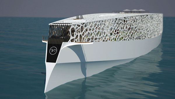 Voronoi - Yacht by Hyun-Seok Kim