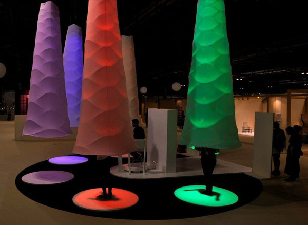 Ultra Gamma - Light Installation by Professor Ezri Tarazi and the d-Vision Group