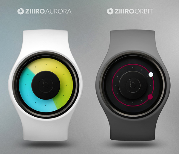 ZIIIRO Aurora & Orbit Watch Concepts by Robert Dabi