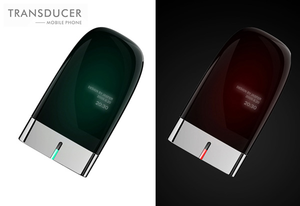 Transducer Mobile Phone Concept by Jasper Hou