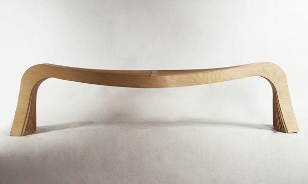 Stretch Bench by Tak Euy Sung