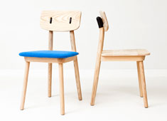 Clip Chair, Clamp Table