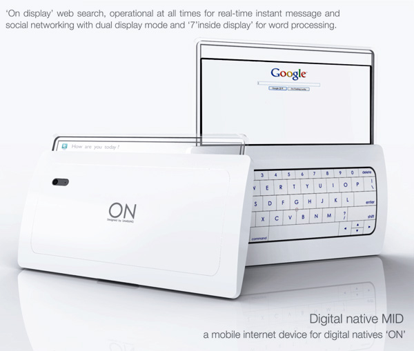 On Display - Google Mobile Internet Device by Choi Koun