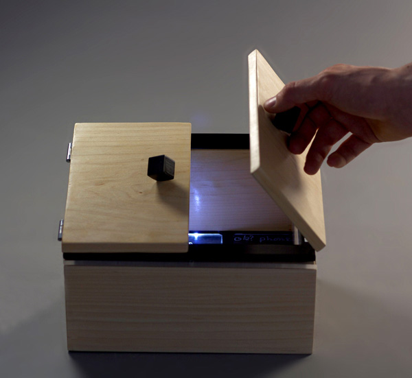 Message in a Box - Communication Device by Rosanna Martlew