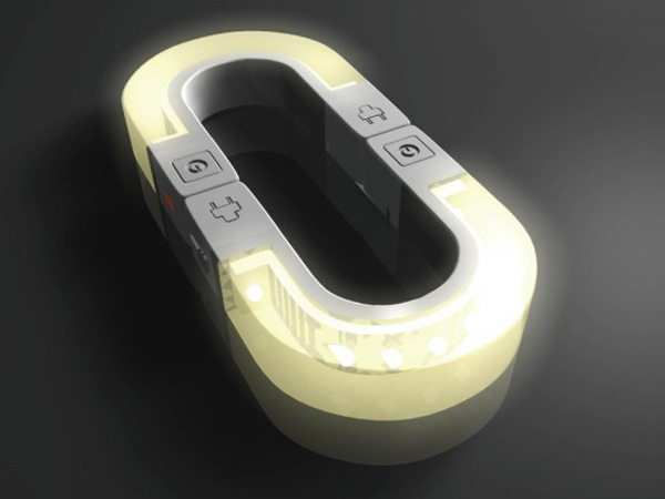 LED Magnetic Night Light by Xinhua Ming
