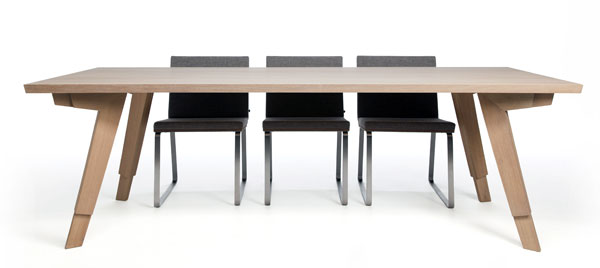 Stud - Dining Table by Marc Th. van der Voorn