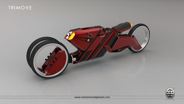 TriMove - Motorbike by Mohammad Ghezel
