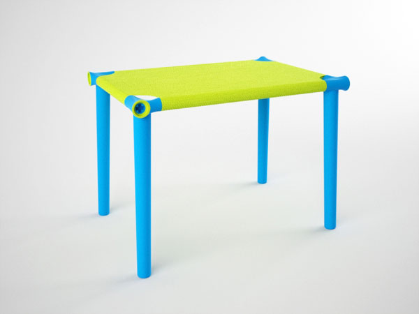 Hangoo Tension Desk - Kid's Table by Carlos Pendas