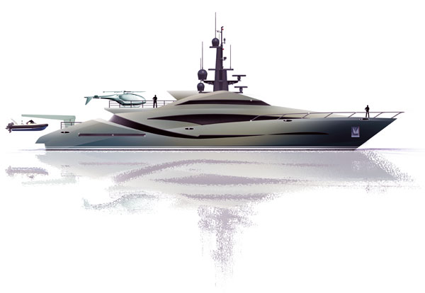 Expedition Yacht by Alex McDiarmid