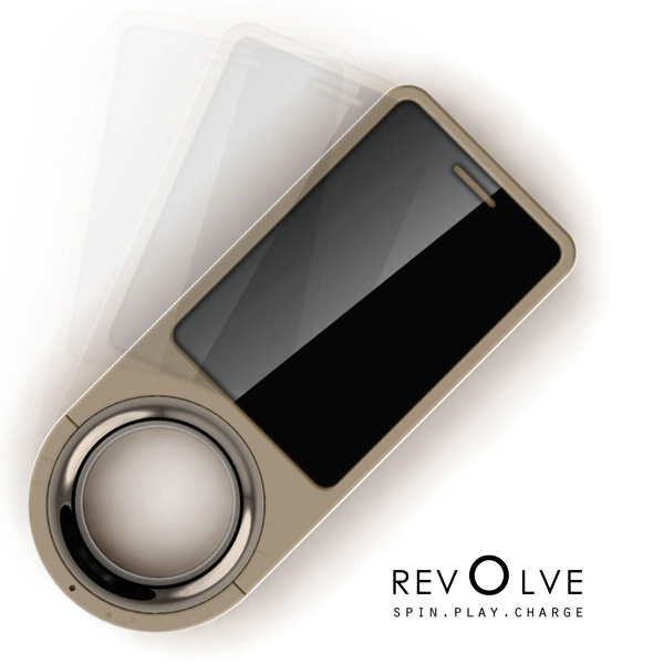 revOlve – Spin Recharging Cellphone by Da Deng, Chandra Baker, Chris Platt & Jason Schuler