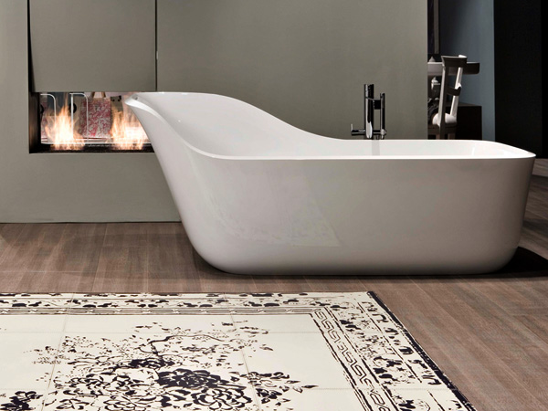 Wanda Bathtub by Daniel Debiasi and Federico Sandri for Antoniolupi