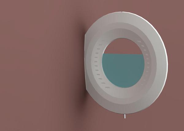 Aqua Clock by Branislav Sipka