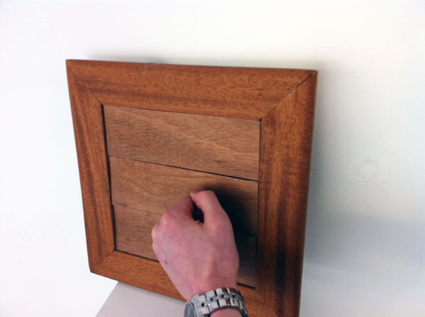 Touch Wood - Doorbell by Gordan Cormack Kedslie