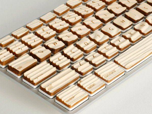 Engrain Tactile Keyboard by Michael A. Roopenian