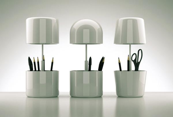 Cap Lamp by Oleksandr Shestakovych
