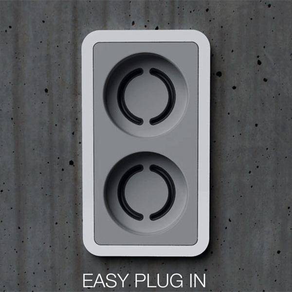 Easy Plug In Socket Concept by Baek Kil Hyun