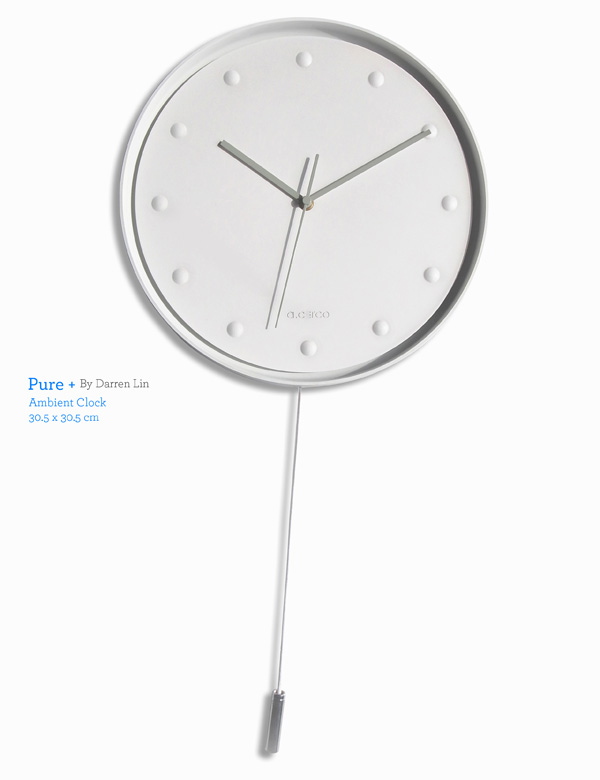Pure Plus Ambient Clock by Darren Lin