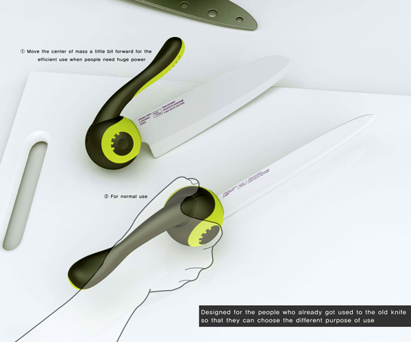 Redesign the Kitchen Knife | Yanko Design