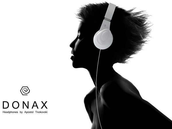 Donax Headphones by Apostol Tnokovski