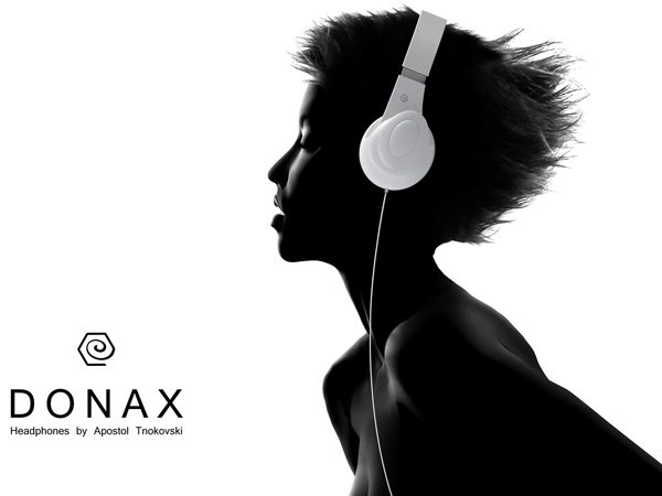 Best Design News donax Sounds from Seashells Hot Design Donax Headphones Apostol Tnokovski