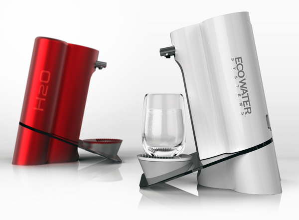 EcoWater CES - Water Purifier by NextOfKin Creatives