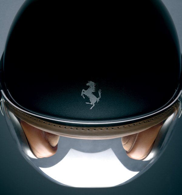 Ferrari Motorcycle Helmet by Vinaccia Integral Design