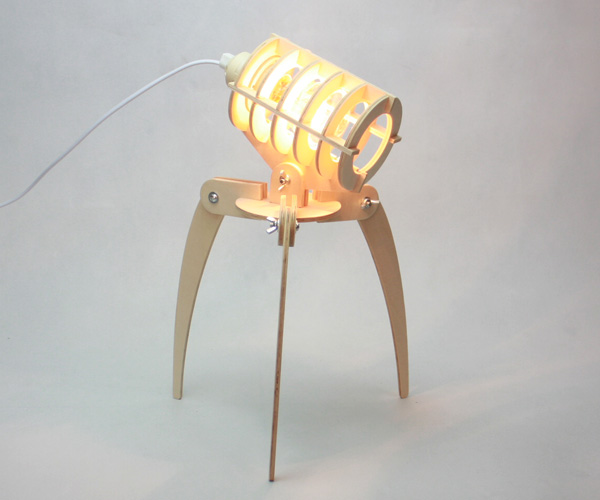 The Invader Lamp