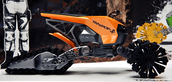 Trakrok - Concept ATV Trike by Alexei Mikhailov