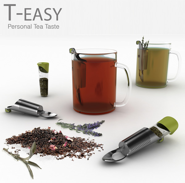 T-EASY - Tea Steeper by Dr. Hakan Gürsu for Designnobis