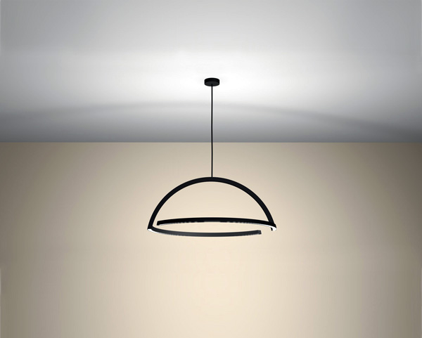 2D LED Pendant Lamp by Ding 3000