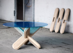 Ancient Puzzle Meets Modern Table
