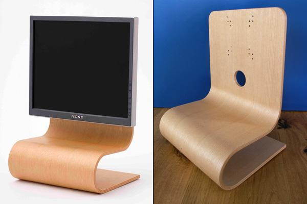 Desktop Wood Stand Yanko Design