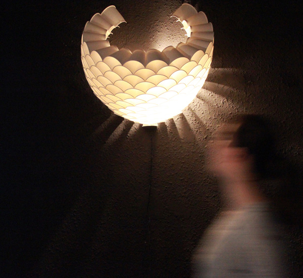 Cup'o Lights - image rays_lamp on http://bestdesignews.com