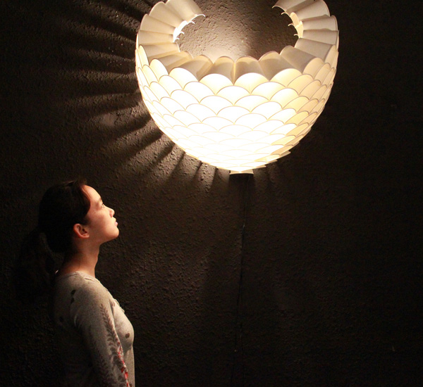 Cup'o Lights - image rays_lamp2 on http://bestdesignews.com