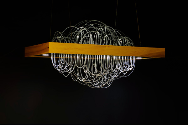 Boogie Chandelier #2 by Kira Varvanina and Edward Lin