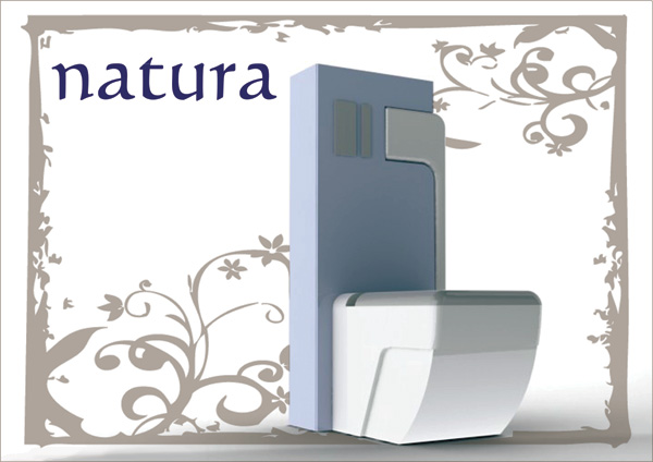 Natura - Eco Toilet by Jose Genovés