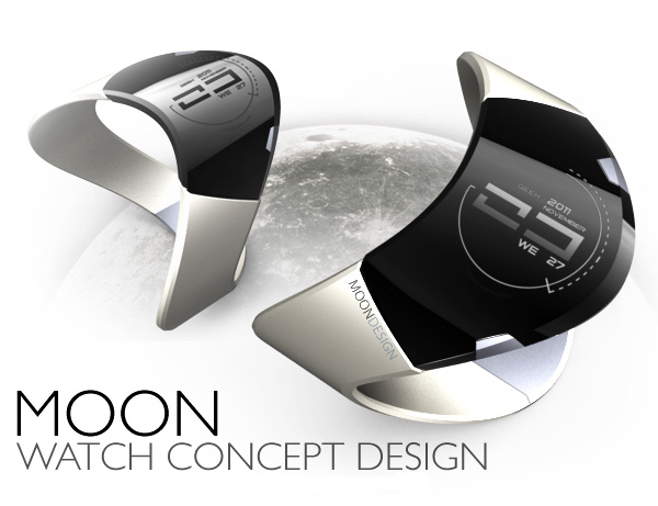 Moon Watch by Adrián Castro Design